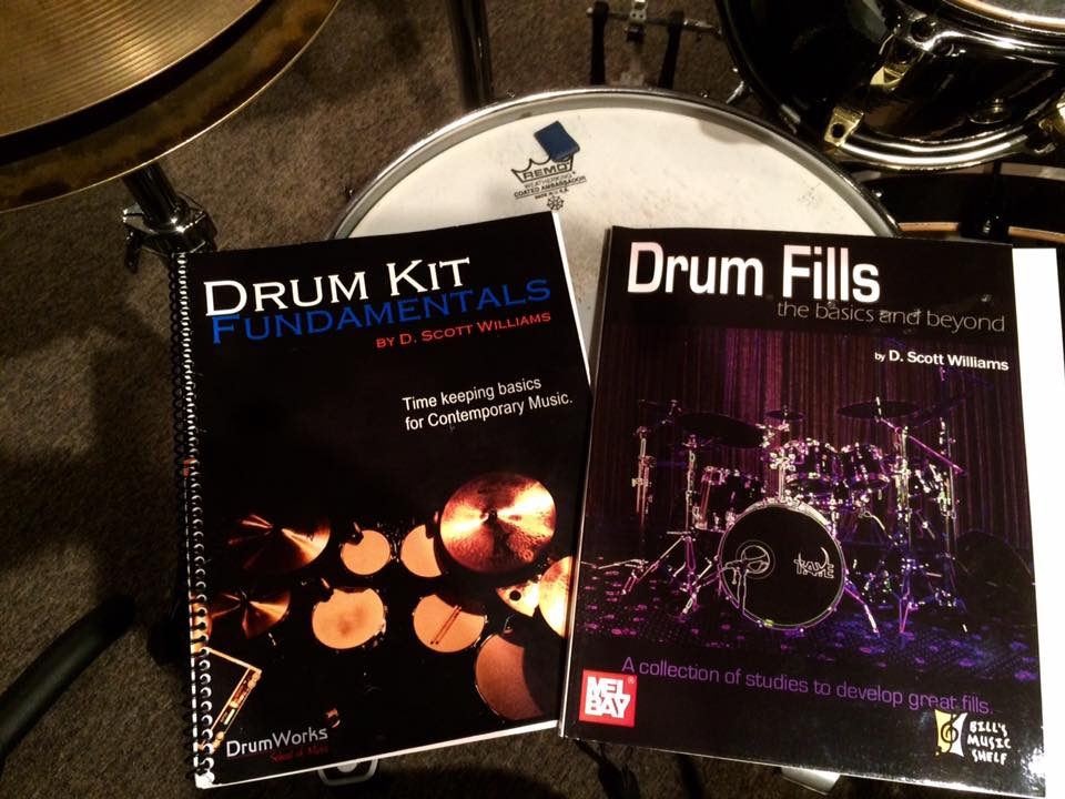Drum books by Scott Williams