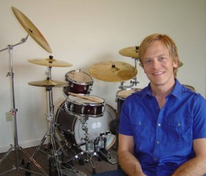 D. Scott Williams drum lesson instructor in orefield pa