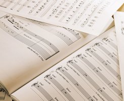 sheet music for drum and guitar lessons